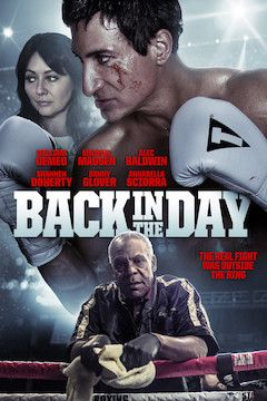 Back in the Day movie poster.