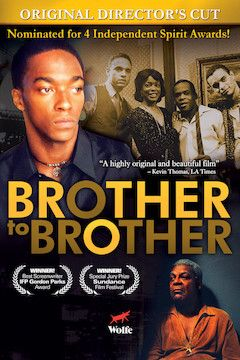 Poster for the movie Brother to Brother