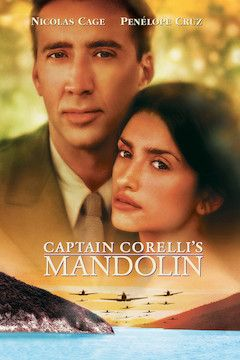 Captain Corelli's Mandolin movie poster.