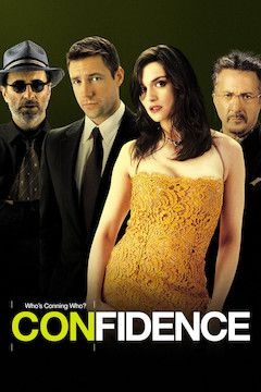 Confidence movie poster.
