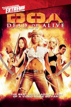 DOA: Dead or Alive movie poster.