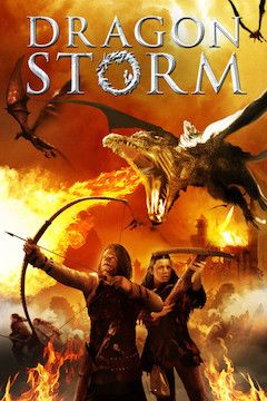 Dragon Storm movie poster.