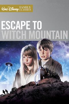Escape to Witch Mountain movie poster.