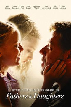 Fathers and Daughters movie poster.