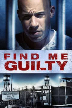 Find Me Guilty movie poster.