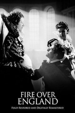 Fire Over England movie poster.