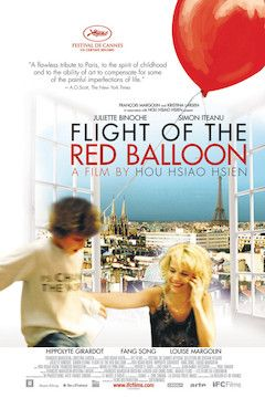 Flight of the Red Balloon movie poster.