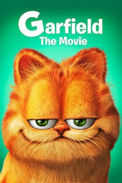 Garfield: The Movie movie poster.