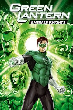 Green Lantern: Emerald Knights movie poster.