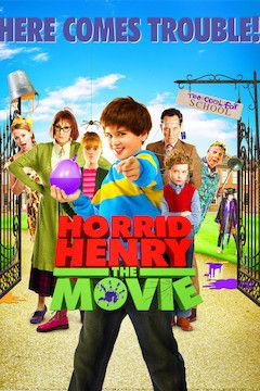 Horrid Henry movie poster.
