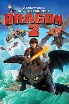 How to Train Your Dragon 2 movie poster.