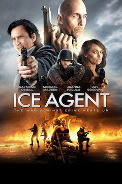 ICE Agent movie poster.