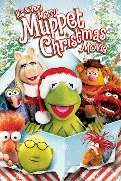 It's a Very Merry Muppet Christmas movie poster.