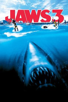 Jaws 3 movie poster.