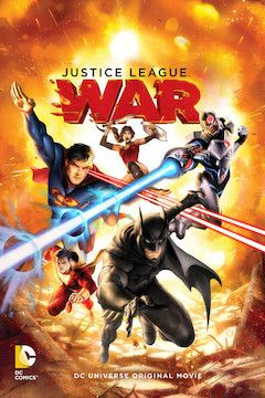 Justice League: War movie poster.