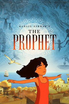 Poster for the movie Kahlil Gibran's The Prophet