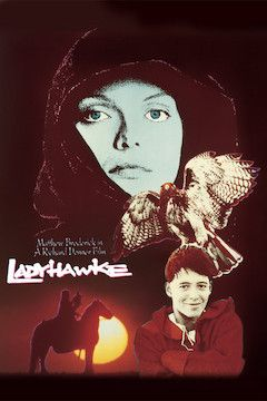 Ladyhawke movie poster.