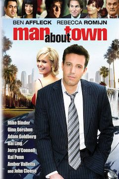 Man About Town movie poster.