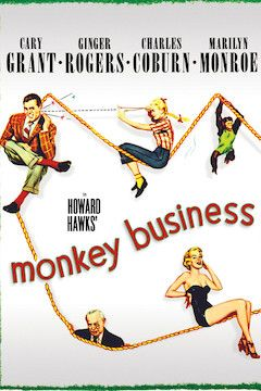 Monkey Business movie poster.