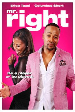 Mr. Right movie poster.