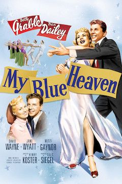 Poster for the movie My Blue Heaven