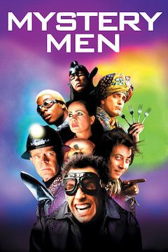 Mystery Men movie poster.