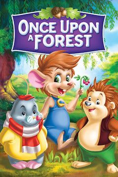 Once Upon a Forest movie poster.
