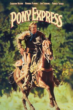 Pony Express movie poster.