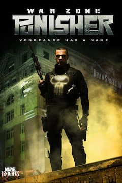 Punisher: War Zone movie poster.