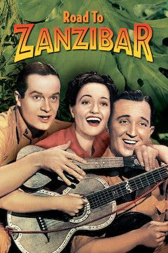 Poster for the movie Road to Zanzibar