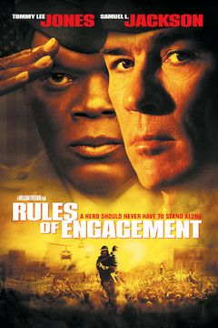 Rules of Engagement movie poster.