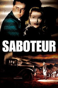Poster for the movie Saboteur