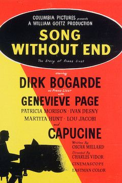 Song Without End movie poster.