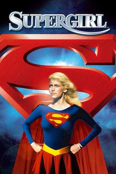 Supergirl movie poster.