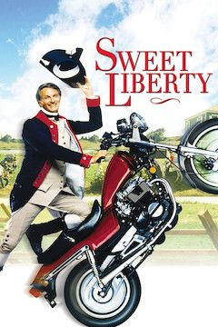 Sweet Liberty movie poster.