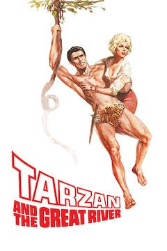 Tarzan and the Great River movie poster.