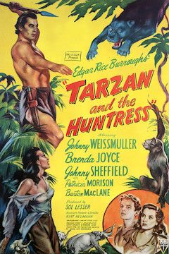 Tarzan and the Huntress movie poster.