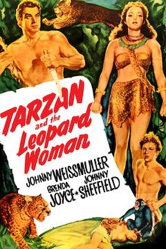 Tarzan and the Leopard Woman movie poster.