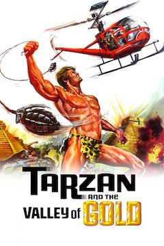 Tarzan and the Valley of Gold movie poster.