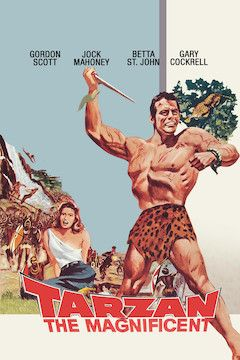 Tarzan the Magnificent movie poster.