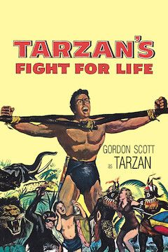 Tarzan's Fight for Life movie poster.