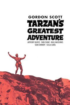 Tarzan's Greatest Adventure movie poster.