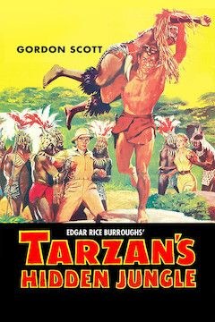 Tarzan's Hidden Jungle movie poster.