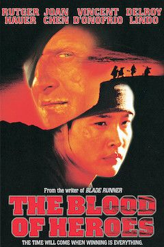 The Blood of Heroes movie poster.