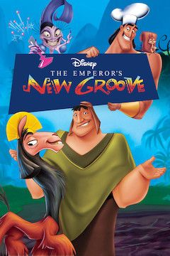 The Emperor's New Groove movie poster.