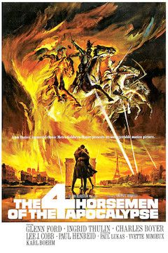 The Four Horsemen of the Apocalypse movie poster.