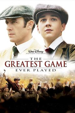 The Greatest Game Ever Played movie poster.