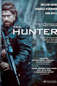 The Hunter movie poster.