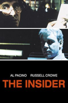 The Insider movie poster.