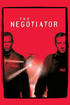 The Negotiator movie poster.